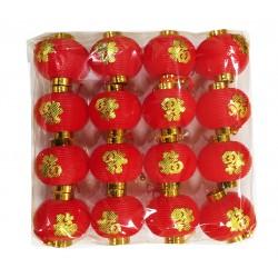 7cm Plastic lanterns (pk of 16)